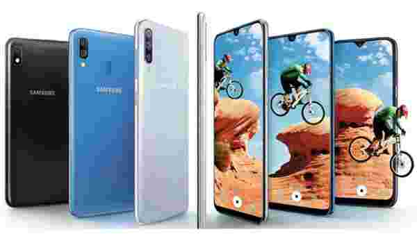 Samsung Galaxy A50 (MRP: Rs 24,000, After Discount Rs 21,490)