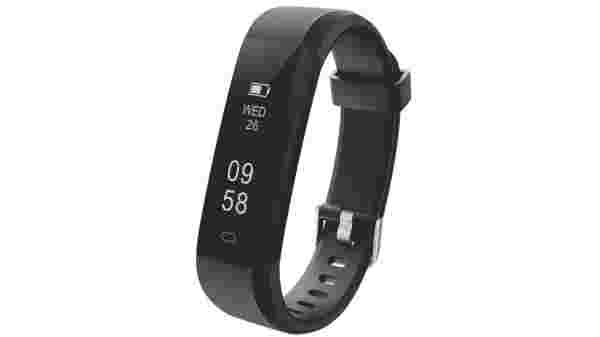 Portronics POR-924 Yogg Plus Smart Fitness Wristband (Black)