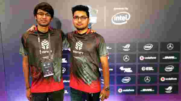 Indian Team Signify fought its last match with TNC Predator from Philippines