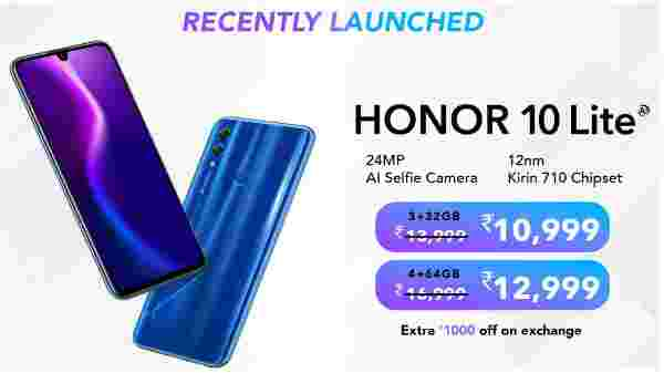21% off on Honor 10 Lite