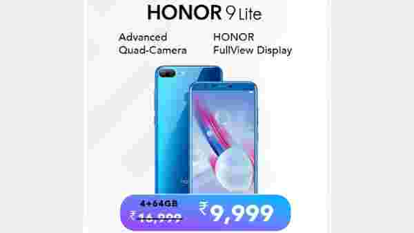 41% off on Honor 9 Lite
