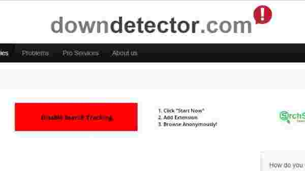 Check the DownDetector Website