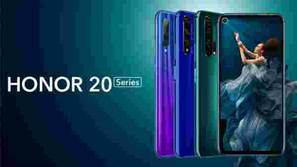 HONOR 20 launched in India for Rs. 32,999