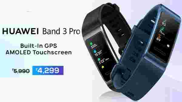 28% off on Huawei Band 3 Pro