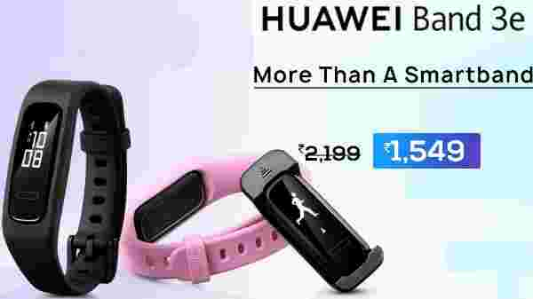 30% off on Huawei Band 3e