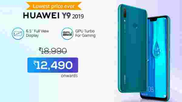 32% off on Huawei Y9 2019