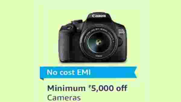 No Cost EMI on Cameras