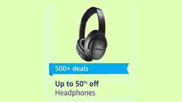 Up to 50% off on Headphones