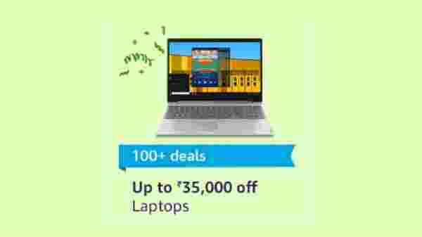 Up to Rs 35,000 off on Laptops