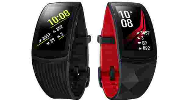 Samsung Gear Fit 2 Pro (MRP: Rs 8,999)