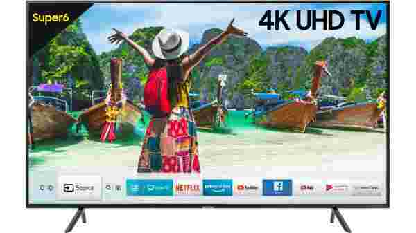 42% off on Samsung NU6100 55 inch Ultra HD (4K) LED Smart TV