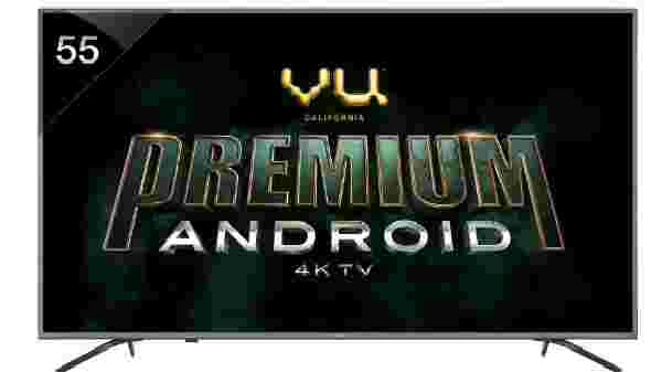 31% off on Vu Premium Android 138cm (55 inch) Ultra HD