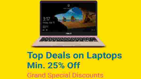 25% off on Top Deals on Laptops
