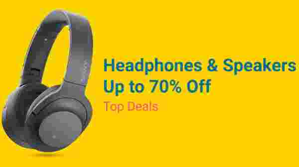 70% off on Headphones and Speakers