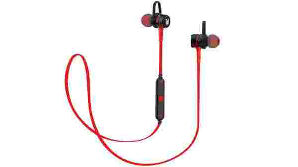 Ant Audio H56 Bluetooth Metal in Ear Stereo Bass Headphone (Red)