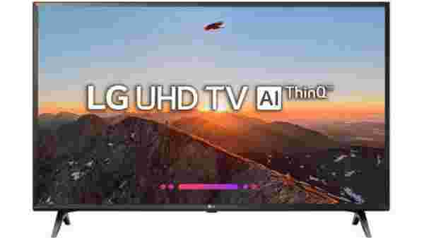 27% off on LG 108cm (43 inch) Ultra HD (4K) LED Smart TV 2018 Edition
