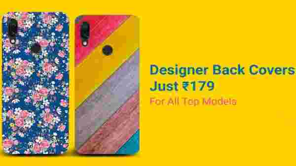Mobile Back covers Starts from Rs 179