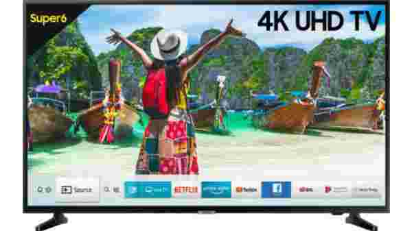 40% off on Samsung NU6100 108cm (43 inch) Ultra HD (4K) LED Smart TV