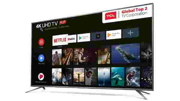 TCL 55P8E 55-inch 4K Smart Android TV launched in India for Rs. 40,990