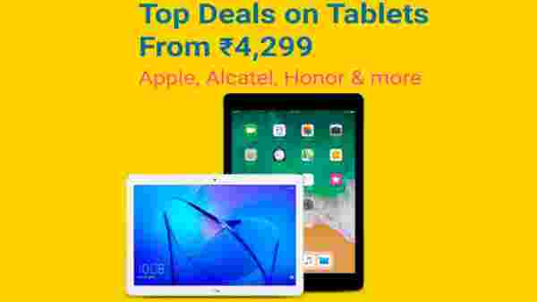 Top Deals on Tablets from Rs 4,299