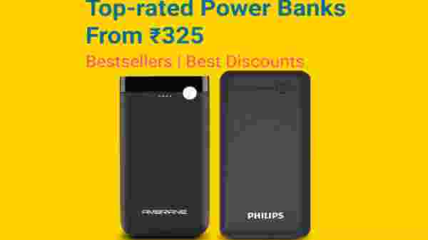 Top Rated Power Banks from Rs. 325