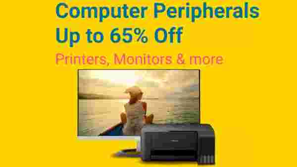 Upto 60% off on Computer peripherals