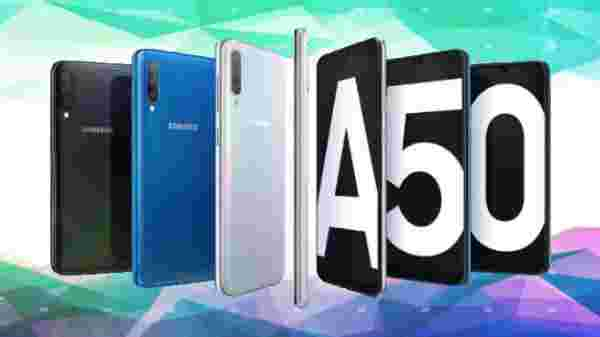 Samsung Galaxy A50 (Paytm Cash Back Of Rs 1,075)