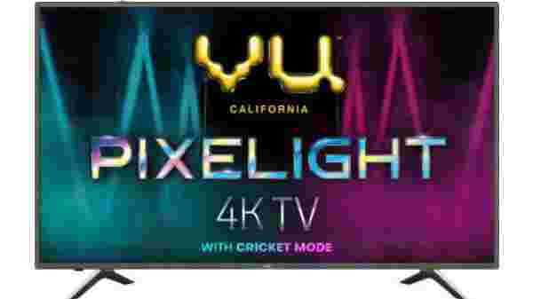 30% off on Vu Pixelight 138cm (55 inch) Ultra HD (4K) LED Smart TV with Cricket Mode