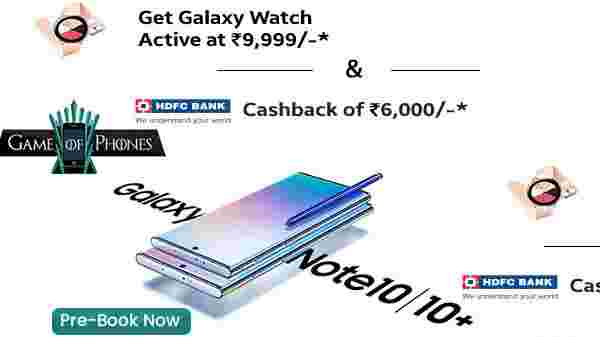 Samsung Galaxy Note 10 And Galaxy Note 10 Plus Pre-Order Started On Croma