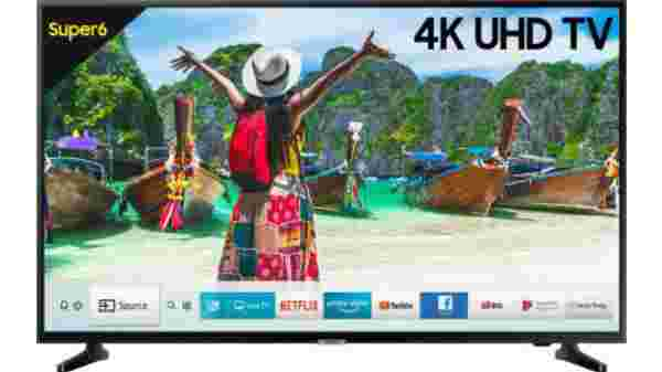 41% Off On Samsung Super 6 108cm (43 inch) Ultra HD (4K) LED Smart TV