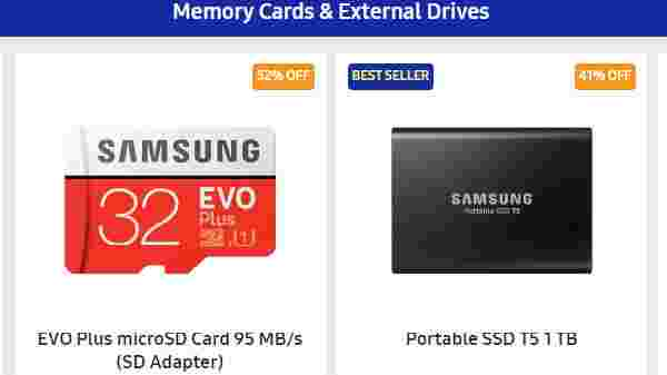 Up to 50% Off On Storage Devices