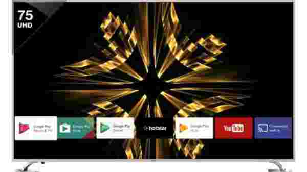 40% off on Vu 190cm (75 inch) Ultra HD (4K) LED Smart Android TV