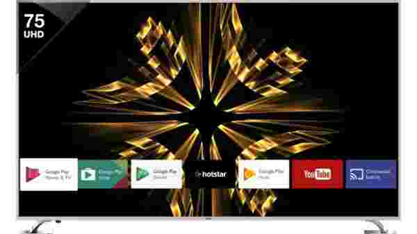 50% Off On Vu 190cm (75 inch) Ultra HD (4K) LED Smart Android TV