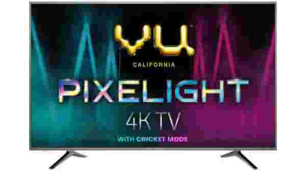 33% off on Vu Pixelight 108cm (43 inch) Ultra HD (4K) LED Smart TV with Cricket Mode