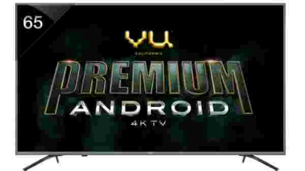 Vu Premium Android 163cm (65 inch) Ultra HD (4K) LED Smart TV
