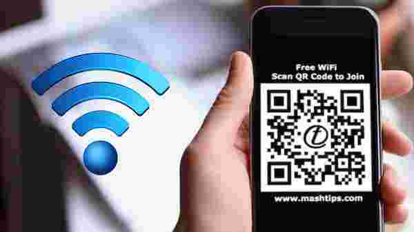 QR Code For Wi-Fi Sharing
