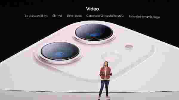 Apple iPhone 11 Cameras- 12MP Dual-Lens Camera