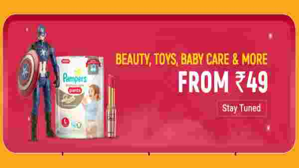 From Rs 49: Beauty, Toys, Baby Care And More
