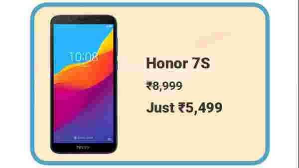 Honor 7S At Rs. 5,499