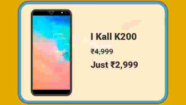 I Kall K200 At Rs. 2,999