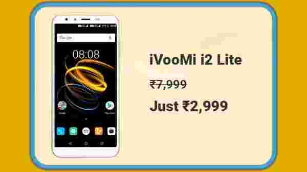 iVooMi i2 Lite At Rs. 2,999