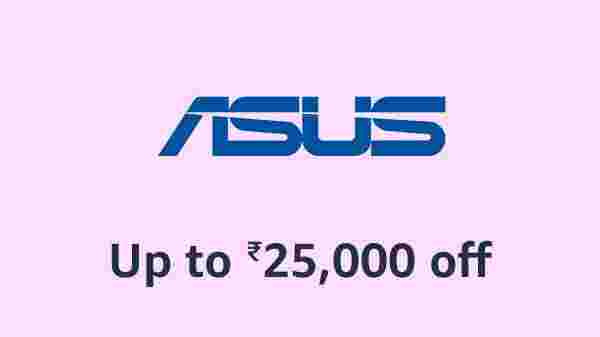 Up To Rs 25,000 Off On Asus Laptops