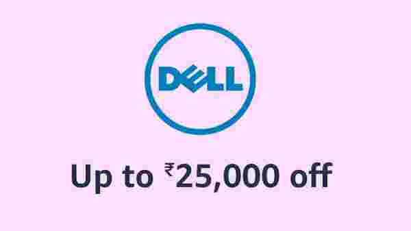 Up To Rs 25,000 Off On Dell Laptops