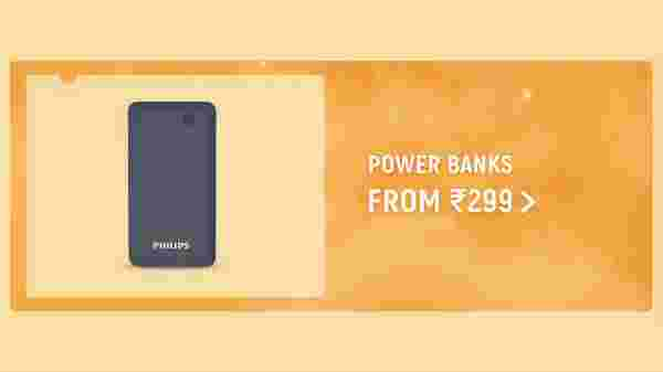 Power Banks From Rs 299