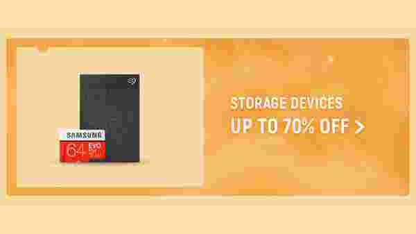 Storage Devices Up To 70% Off