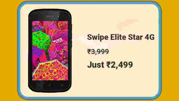Swipe Elite Star 4G At Rs. 2,499