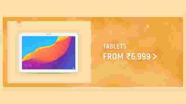 Tablets From Rs 6,999