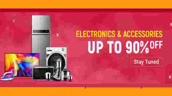 Up To 90% Off On Electronics and Accessions