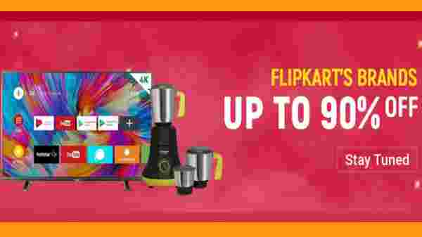 Up To 90% Off On Flipkart Brand Products