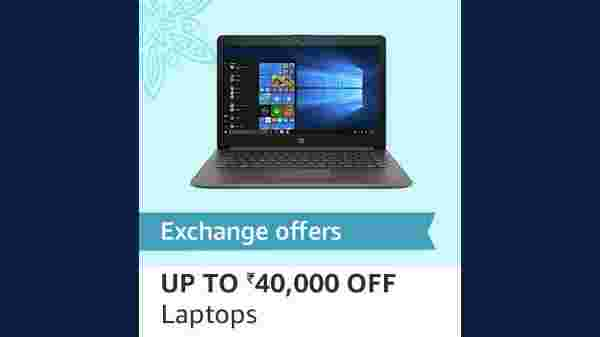 Exchange Offers And Up To Rs 40,000 Off On Laptops